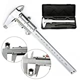 Vernier Caliper Stainless With Case Micrometer Measuring Tool Gauge 150mm/0.02mm