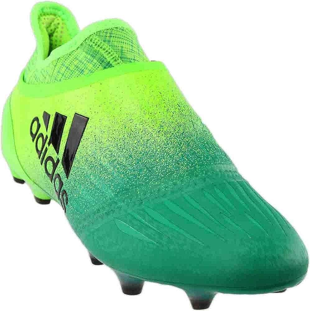 Telemacos cemento Malabares  Amazon.com | adidas X 16+ Purechaos FG Cleat - Men's Soccer 6.5 Solar  Green/Black/Core Green | Soccer