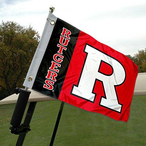 Rutgers Golf Cart and Boat Flag