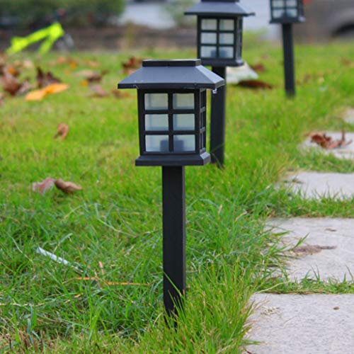 Clearance Sale!DEESEE(TM)8PC Solar Pathway Lights Outdoor Waterproof Outdoor Solar Lights for Garden]()