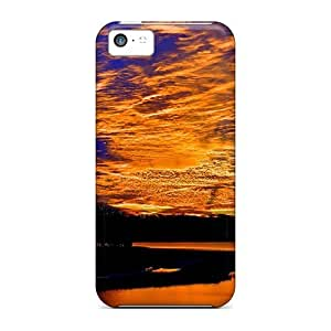 Cynthaskey BFytdmY4533yTFoi Protective Case For Iphone 5c(golden Sky Of Silence)