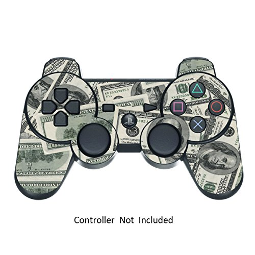 Skin Stickers for Playstation 3 Controller - Vinyl Sticker for DualShock 3 Wireless Game PS3 Controllers - Protectors Stickers Controller Decal - Big Ballin [ Controller Not Included ]