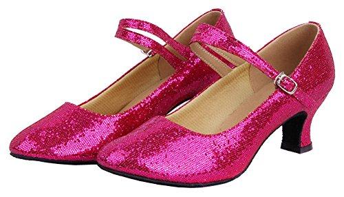 Chaussures Ground Fuchsia Mary De Pour Danse Femmes Jane Soft Honeystore vgwdFYqv
