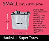 Moose Supply Small Square 24-inch by 24-inch by 30-inch Haulz All Super Totes for Stakes, Tools, Gardening, and Storage