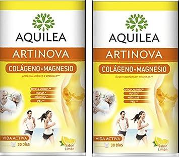 Aquilea Artinova Colágeno + Magnesio Sabor Limón Duplo: Amazon.es: Salud y cuidado personal
