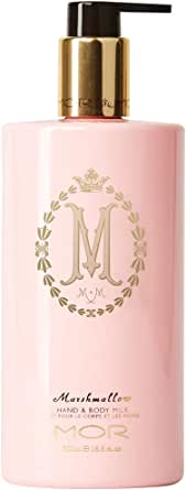 MOR Boutique Marshmallow Hand and Body Lotion, 16.9 Ounces, 500ml