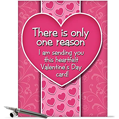 J2129 Jumbo Funny Valentine's Day Card: B if I Didnt With Envelope (Extra Large Version: 8.5 x 11) Sales