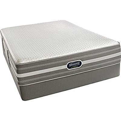 Simmons Beauty Rest Recharge Hybrid Plush Mattress, Air Cool Gel Memory Foam, Pocketed Coil, Queen