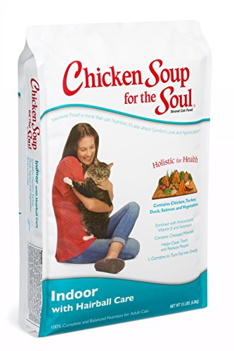 Chicken Soup for the Soul Indoor with Hairball Care Cat 15lb
