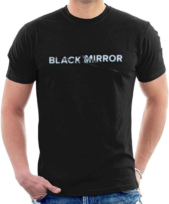 Epica Mirror Homme T-Shirt Manches Courtes Noir Regular//Coupe Standard