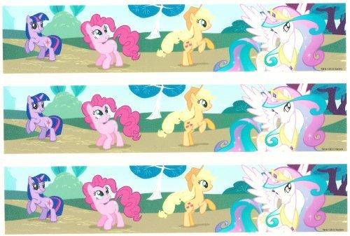 My Little Pony Designer Strips ~ Edible Image Cake Topper!!!