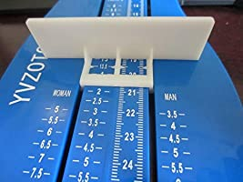 Professional Foot Measuring Gauge Children Adult Shoe Measure Tool Kids Shoes Sizer Calculator Blue
