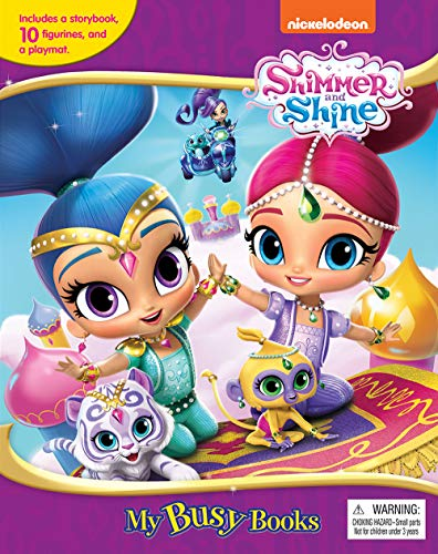 Shimmer and Shine My Busy Book Board book – February 1, 2017