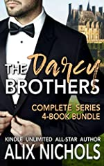 The complete Darcy Brothers series in 1 hot box set!A fake marriage, an office hook-up and a lost email... turn the lives of 3 French aristocrat siblings upside down in this sexy rom-com bundle.Over 700 pages of family secrets, unexpected twi...