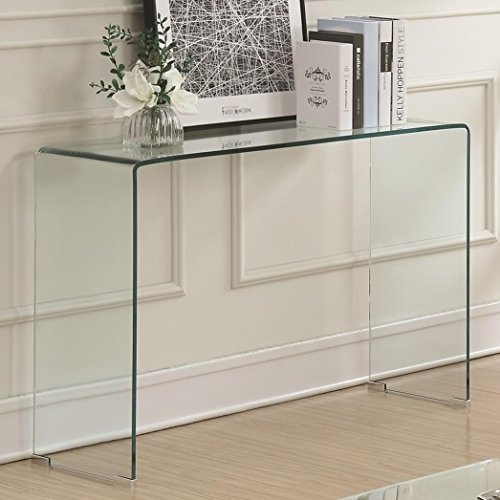 Coaster Home Furnishings 705329 Sofa Table, Clear