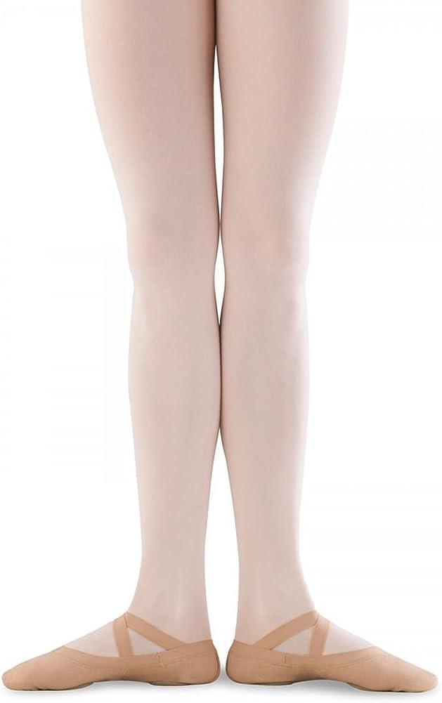 Flesh 7.5 D US Bloch Mens Dance Synchrony Split Sole Stretch Canvas Ballet Slipper//Shoe