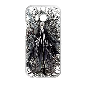 HTC One M8 White Black Butler phone case Christmas Gifts&Gift Attractive Phone Case HLN5A0224375