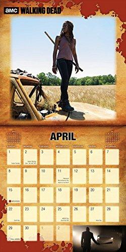 The Walking Dead - Official 2018 Wall Calendar (UK Import) (16 Month Calendar) (Size: 12
