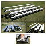Anodized Aluminum Low Rise Bleachers (7.5 ft.)
