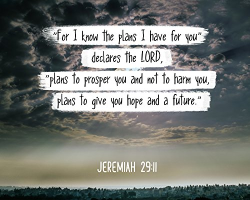bible verse wall art poster