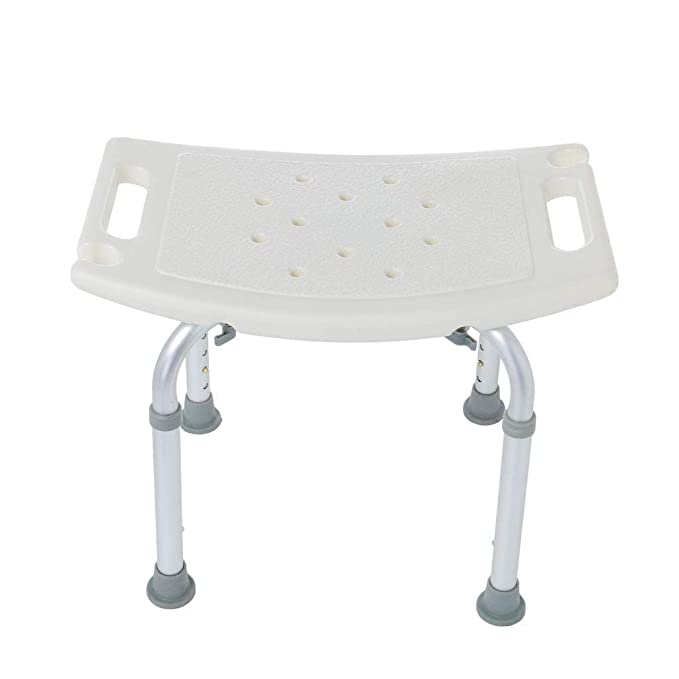Excellent Portable Shower Stool Adjustable Shower Chair Medical Tool Anti Slip Bathtub Seat Bench Height Is Adjustable Of 14 To 21 Inzonedesignstudio Interior Chair Design Inzonedesignstudiocom