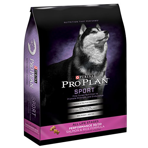Purina Pro Plan High Protein Dry Dog Food, SPORT Performance 30/20 Salmon & Rice Formula - 33 lb. Bag, PRO PLAN Dog Prfm