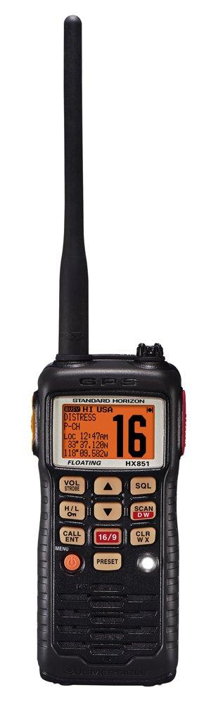 amazon com standard horizon hx851 6w floating handheld vhf radio rh amazon com HX750 Chiller HX750 Chiller
