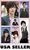 Kim Hyun Joong of SS501 vert collage POSTER 23.5 x 34 Korean teen idol Jung (poster sent from USA in PVC pipe)