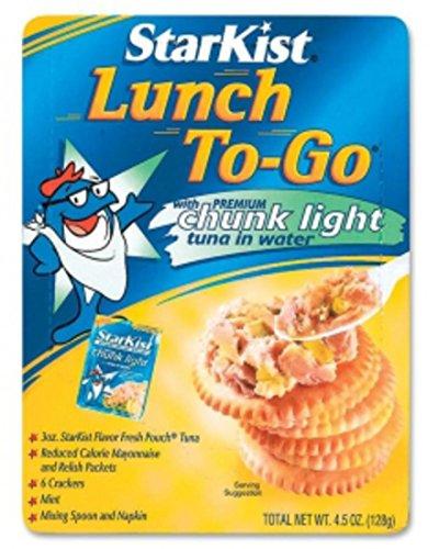 Star Kist Lunch To-Go StarKist Lunch To-Go Chunk Light Tuna in Water, 4.1 oz - Go Tuna Kit