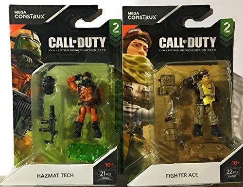 Combat Medic Hazmat Tech Specialist Mega Construx Call of Duty S2 John Soap