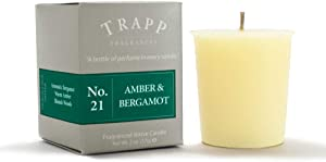 Trapp Signature Home Collection No. 21 Amber & Bergamot 2 Ounce Votive, 2 Pack