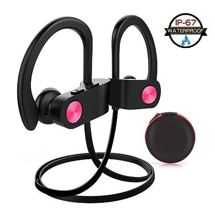 Telgoner Auriculares Bluetooth In el Oído, IPX7 Impermeable CVC 6.0 y 8 Horas de Reproducción