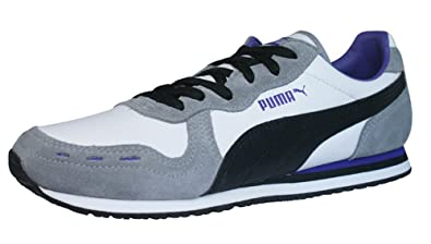 PUMA Cabana Racer II LS Womens Leather sneakers Shoes - White - SIZE US 8.5 77507b98a