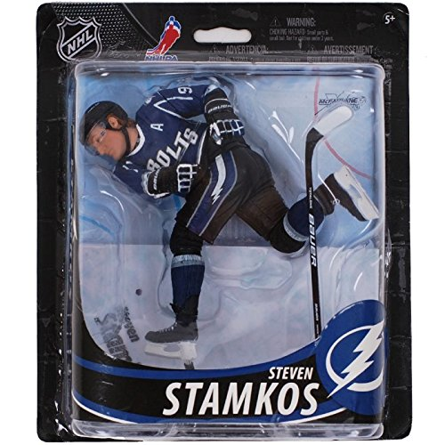 McFarlane Toys NHL Series 33 Steven Stamkos Tampa Bay Lightning Action Figure ()