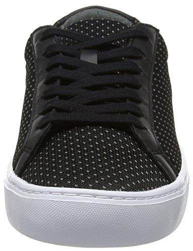 Lacoste Herre L.12.12 Letvægts 118 1 Cam Sneaker Sort (blk / Dk Gry) mWXEBz1