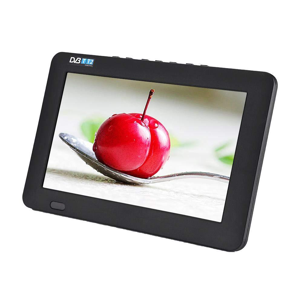 Zerone Digital TV, 9 inch DVB-T-T2 Digital Analog Television 800x480 Resolution TFT LCD Display Portable TV