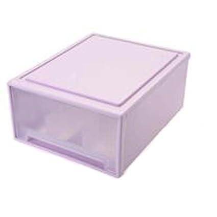 ZLR Modern Fashion Ropa interior caja de almacenamiento cajón estilo armario multi-celda ropa interior