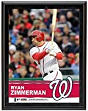 """Ryan Zimmerman Washington Nationals Sublimated 10.5"""" x 13"""" Plaque - Fanatics Authentic Certified - MLB Player Plaques and Collages"""
