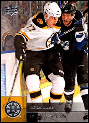 2009-10 Upper Deck Hockey Series 2#251 Milan Lucic Boston Bruins Official NHL UD Trading Card ()