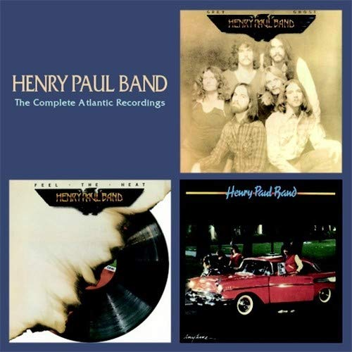 CD : Henry Paul Band - Complete Atlantic Recordings (2cd) (CD)