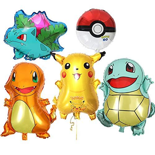 Grande 5-pack Globo, Pikachu & Amigos para Pokemon ...