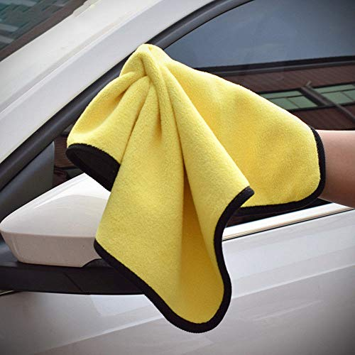 HEALTHLL 1 Pc Car Strong Plush Thick Polyester Fiber Car Towels Washing and Drying Towel Care Wash Microfiber Car Cleaning Cloth from HEALTHLL