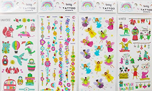 Orlando Hand Bears - GGSELL GGSELL waterproof and non toxic 4pcs children cartoon temporary tattoos in one package, it's including butterfly angels,flowers,animals,bears,elephants,airplane etc.temporary tattoos