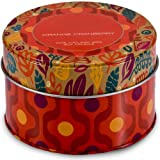 Illume Oversized Retro 16.2 oz 3 wick Natural Candle Orange Cranberry