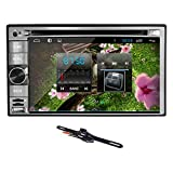 TOCADO Quad-core Car Stereo with 6.2'' Display, Android 6.0 Car DVD Player GPS Navigation Car Stereo DVD Bluetooth RDS + Backup Camera