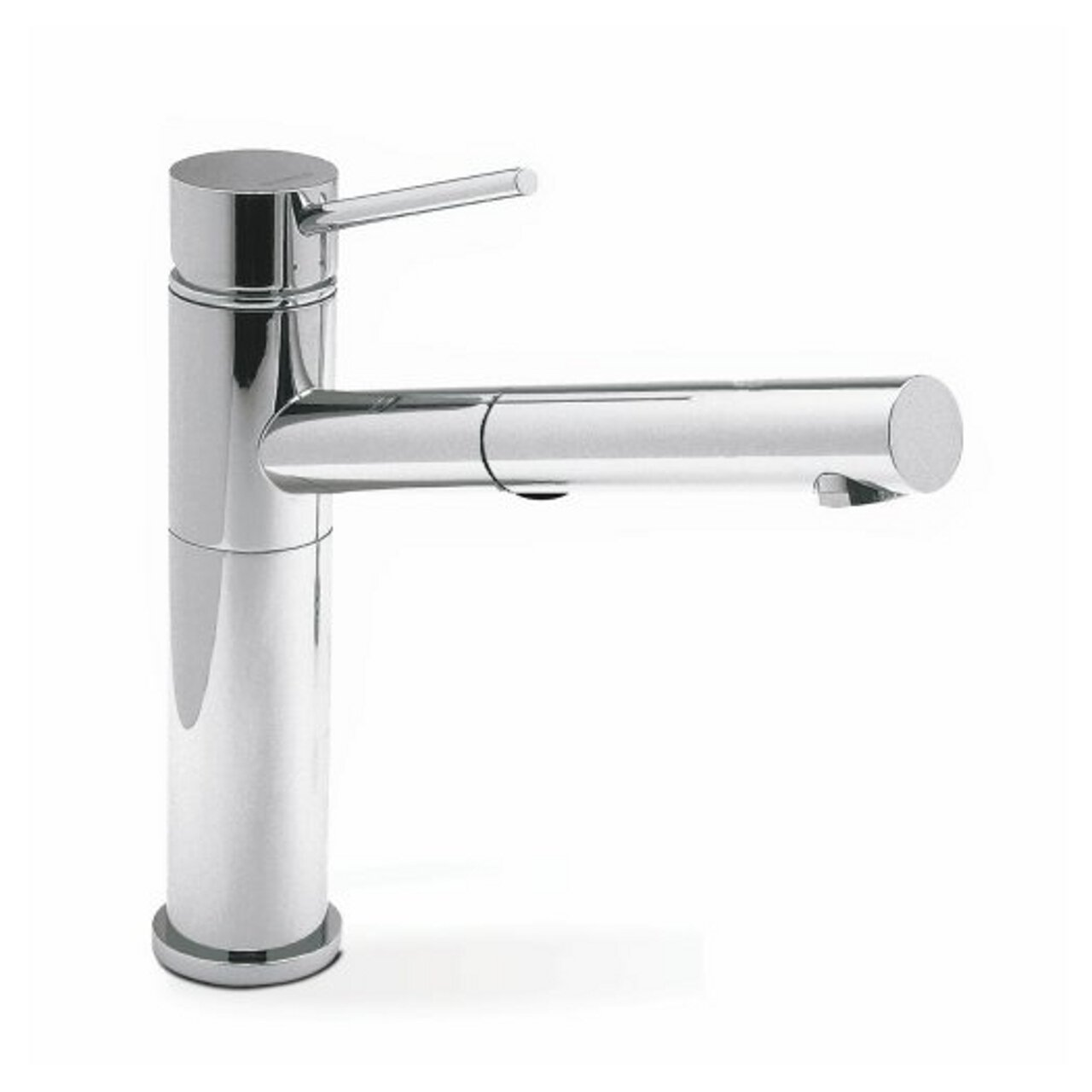 Blanco 441401 Alta Pullout With Dual Spray, Chrome   Touch On Kitchen Sink  Faucets   Amazon.com