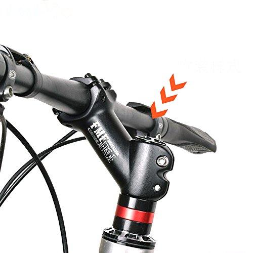 Acekit Aluminum Alloy 31.8mm 28.6mm Bike Handlebar Stem Riser Suitable for 1 1/8 Inch Steering Tube and 1 1/4 Inch Handlebar