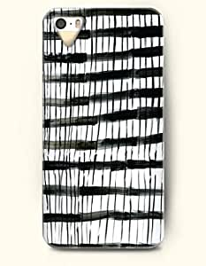 Black And White Doodles -- OOFIT Case for Apple iPhone 4 4S Case - Geometric Pattern
