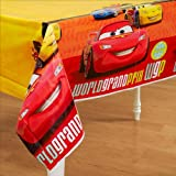 Hallmark Cars 2 Plastic Table Cover (1ct)