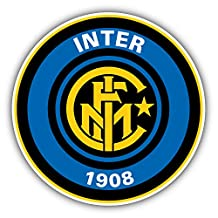 Inter Milan Soccer Football Vinyl Sticker 5 X 5 inches
